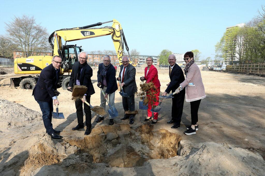 Stadtleben Ellener Hof - Jetzt beginnt der Aufbau