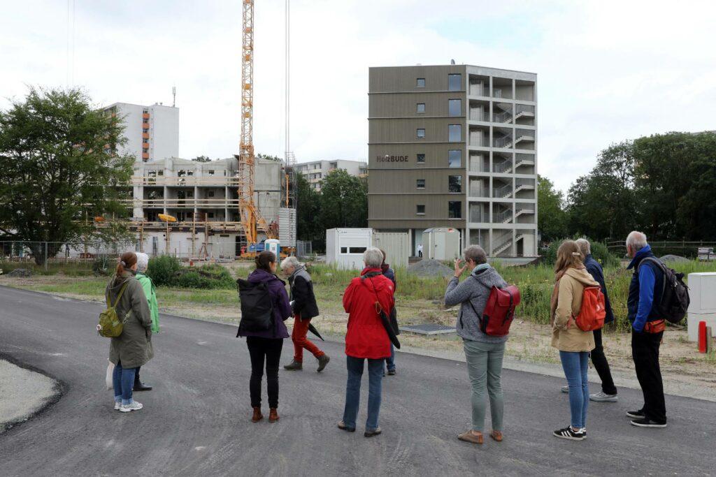 Stadtleben Ellener Hof Baustellenrundgang